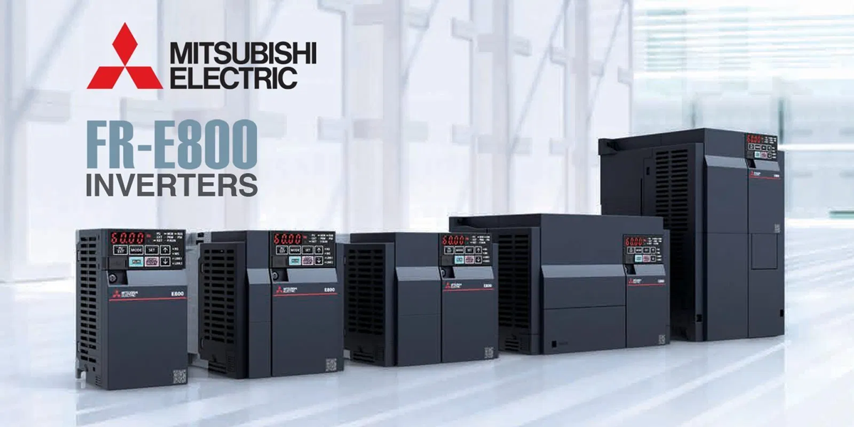 MITSUBISHI ELECTRIC HAS ANNOUNCED THE RELEASE OF ITS NEXT-GENERATION, MULTI-PURPOSE INVERTER, THE FR-E800 SERIES.