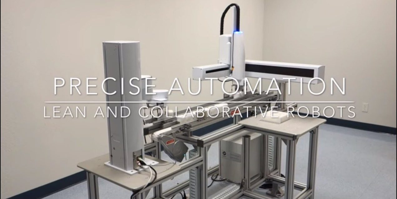 PRECISE AUTOMATION: COBOTS FOR PROGRAMMERS