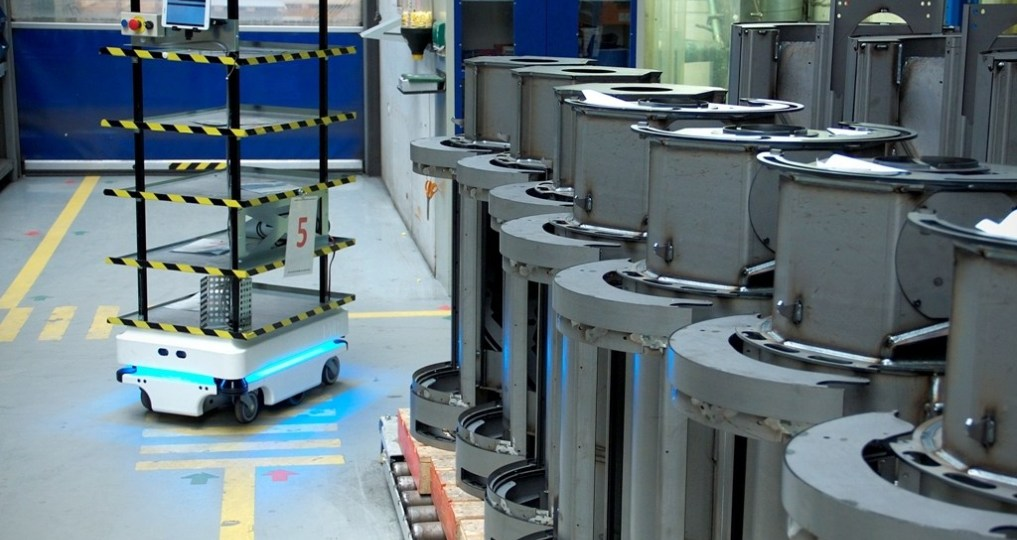 MOBILE ROBOTS IN MANUFACTURING