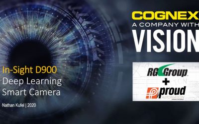 COGNEX WEBINAR – Introduction to ViDi software and InSight D900 Vision System